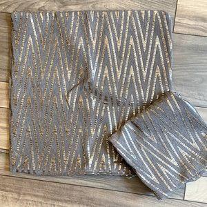Matching set pillow shams